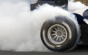 Smoking-tyre